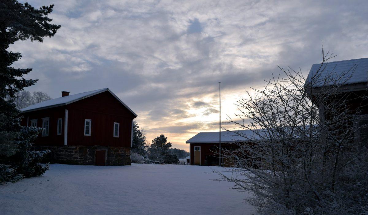 Ylistupa talvella